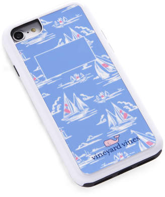 Vineyard Vines Monogrammed Sailboat Sketch iPhone 7/8 Case