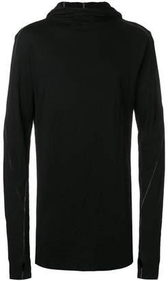 Thom Krom gloved sleeve hoodie