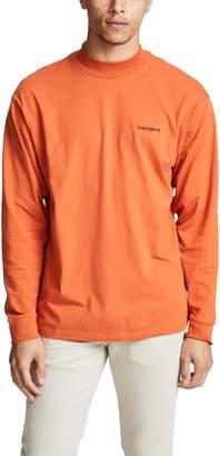 Carhartt Wip WIP Long Sleeve Script Embroidery T-Shirt