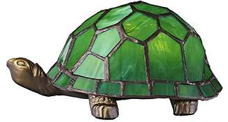 Tiffany & Co. Haysoms Hand Crafted Tortoise Lamp, Green