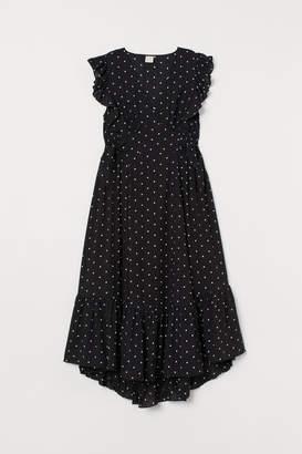4283c703d10c H&M V-neck Dress - Black