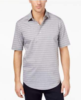 Club Room Men's Popover Striped Polo Shirt, Created for Macy's