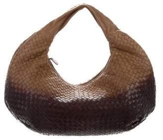 Bottega Veneta Leather Handbag Hobo Bag Black - ShopStyle de197b40fd145