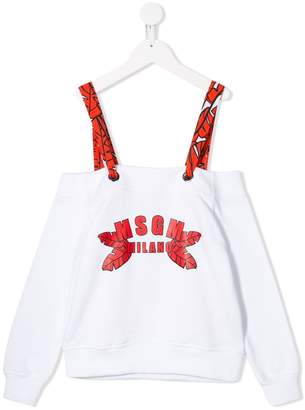 MSGM Kids sweatshirt blouse