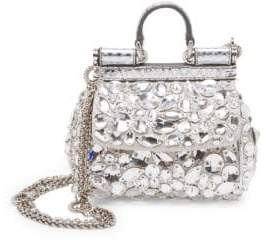 Dolce & Gabbana Mini Crystal Crossbody Bag