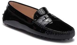 Tod's Patent Leather Driving Loafer