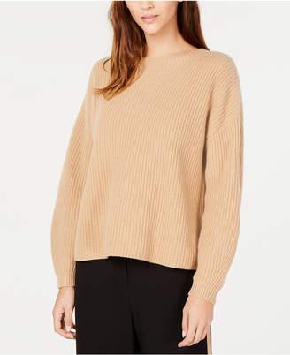 Eileen Fisher Cashmere Round-Neck Sweater