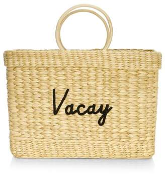 Poolside Large Structured Beach Tote