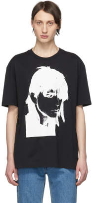 Calvin Klein Black Stephen Sprouse T-Shirt