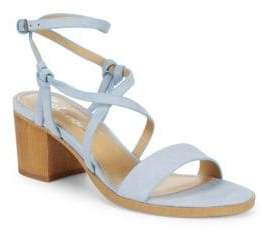 Splendid Filipa Leather Ankle-Strap Sandals