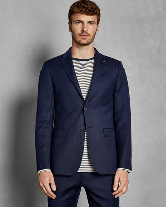 Ted Baker OVRACTJ Endurance birdseye wool Performance suit jacket