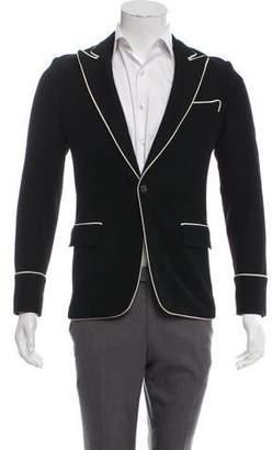 Christian Dior 2006 Wool & Cashmere-Blend Piping Blazer