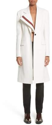 Calvin Klein Uniform Stripe Coat