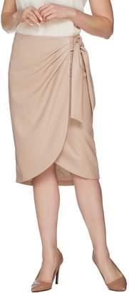 G.I.L.I. Got It Love It G.I.L.I. Side Tie Faux Leather Skirt