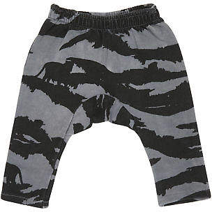Munster New Kids Baby Boys Growl Fleece Pant Cotton Black