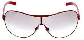 DKNY Gradient Shield Sunglasses