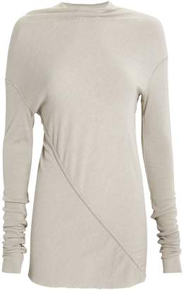 Rick Owens Lilies Gathered Knit Top