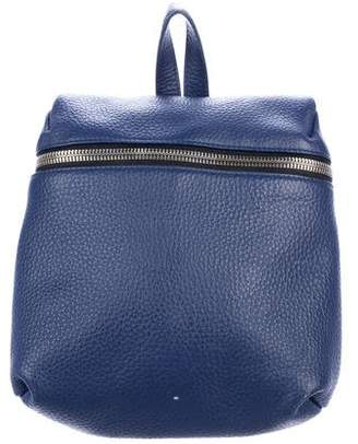Kara Pebbled Leather Backpack