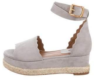 Chloé Lauren Suede Sandals w/ Tags