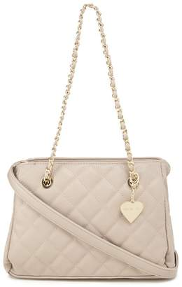 Marc B Taupe 'Katie' Quilted Shoulder Bag