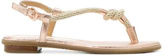 MICHAEL Michael Kors Holly rope-trim sandals