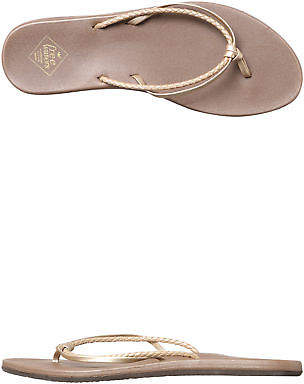 Freewaters New Women's Womens Wendi Sandal Synthetic Gold