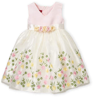 Princess Faith (Toddler Girls) Embroidered Flower Dress