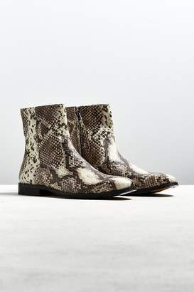 Urban Outfitters Western Snake Chelsea Boot