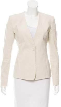 Theyskens' Theory Tailored Linen-Blend Blazer