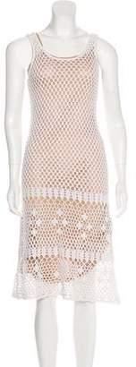 MICHAEL Michael Kors Crocheted A-Line Dress