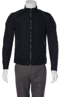 Belstaff Quilted Woven Jacket