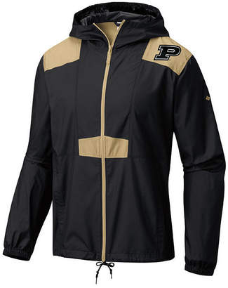 Columbia Men Purdue Boilermakers Flashback Windbreaker Jacket