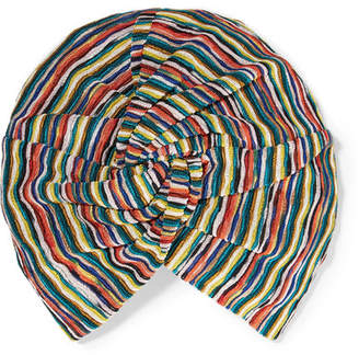 Missoni Crochet-knit Turban - Red