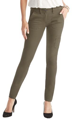 LOFT Tall Marisa Super Skinny Cargo Pants in Stretch Cotton Twill