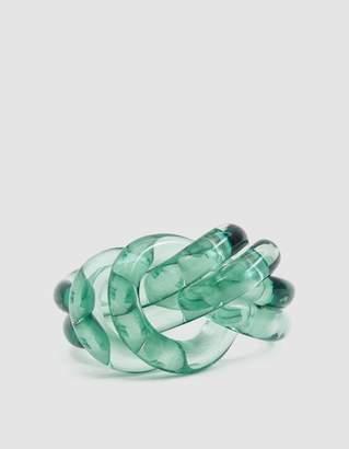 J.W.Anderson Perspex Knot Bracelet