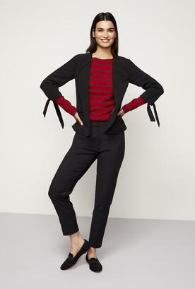 Long Tall Sally Tie Sleeve Textured Jacket