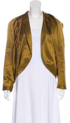 Nina Ricci Silk Draped Jacket