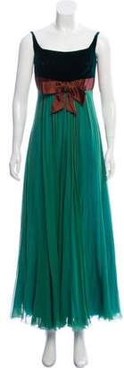 Ralph Lauren Silk Evening Dress