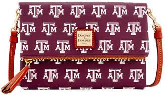 Dooney & Bourke NCAA Texas A&M Foldover Crossbody
