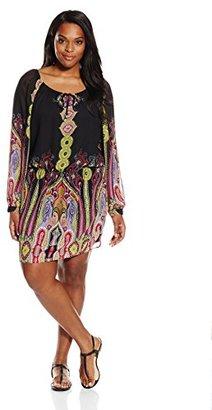 Single Dress Women's Plus Size Peasant Boho $64.19 thestylecure.com