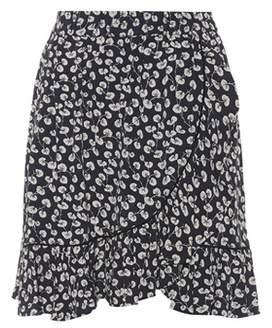Ganni Roseburg printed skirt