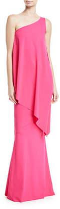 Chiara Boni Kita Sleeveless Asymmetric Toga Dress