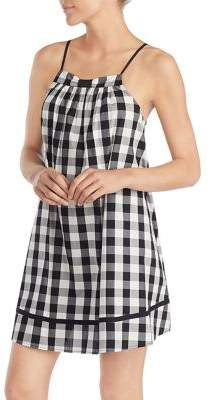 Kate Spade Checkered Swing Chemise