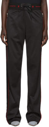 Givenchy Black Velvet Band Lounge Pants