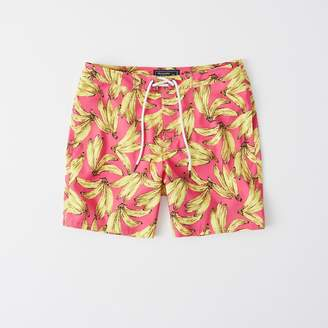 Abercrombie & Fitch A&F Men's Classic Swim Shorts in Pink BANANA - Size 30