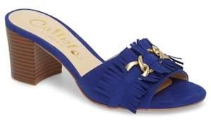 Callisto Zinnia Block Heel Slide Sandal