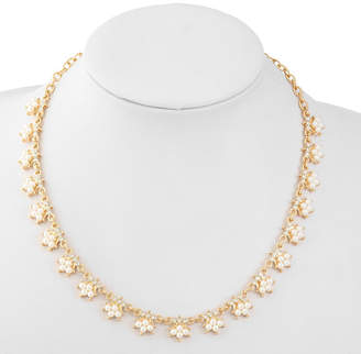 MONET JEWELRY Monet Jewelry Womens White Simulated Pearls Collar Necklace