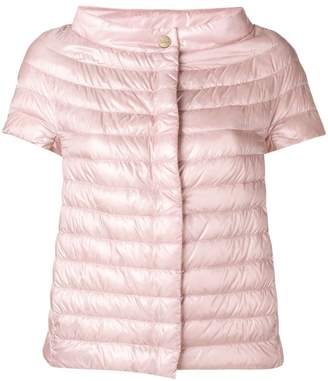 Herno sleeveless feather down jacket