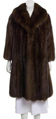 Ben Kahn Sable Fur Coat
