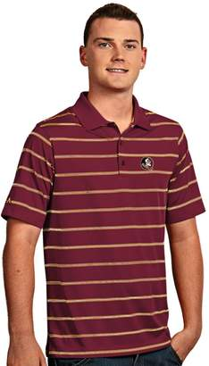 Antigua Men's Florida State Seminoles Deluxe Striped Desert Dry Xtra-Lite Performance Polo
